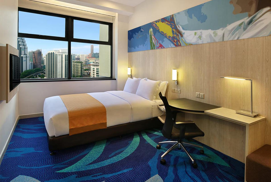 Номер в отеле Holiday Inn в Куала Лумпур