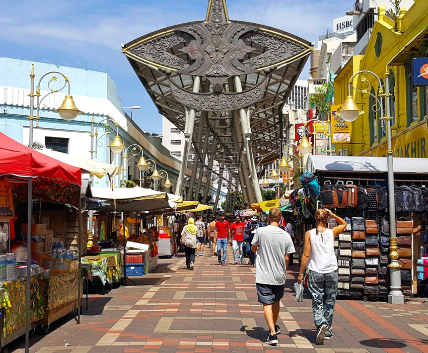 Централ Маркет и Kasturi Walk в Чайнатауне, Куала Лумпур