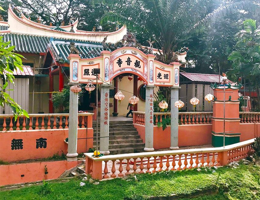 Храм Guan Yin находится в конце Чайнатауна