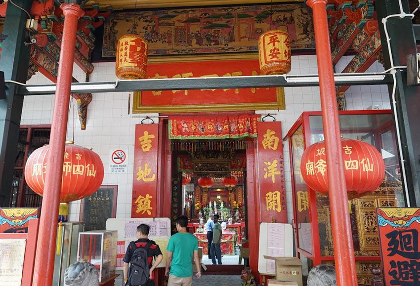 Храм Sin Sze Si Ya в Чайнатауне Куала Лумпур