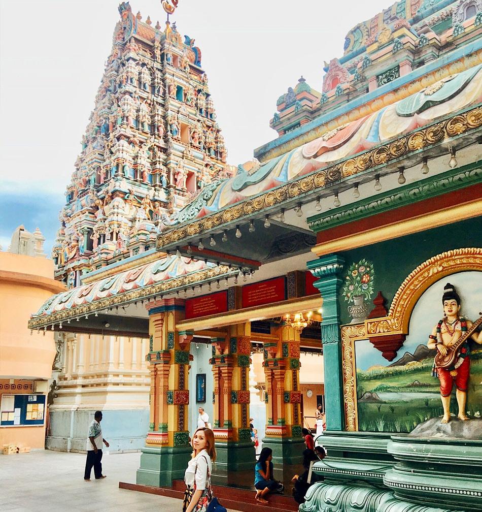 Sri Mahamariamman (Шри Маха Мариамман) - индуистский храм в Куала Лумпур