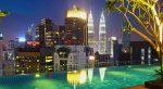 7 отелей Куала Лумпур с отличным бассейном на крыше