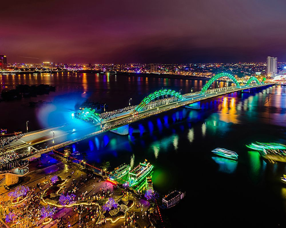 Мост Дракона в Дананге