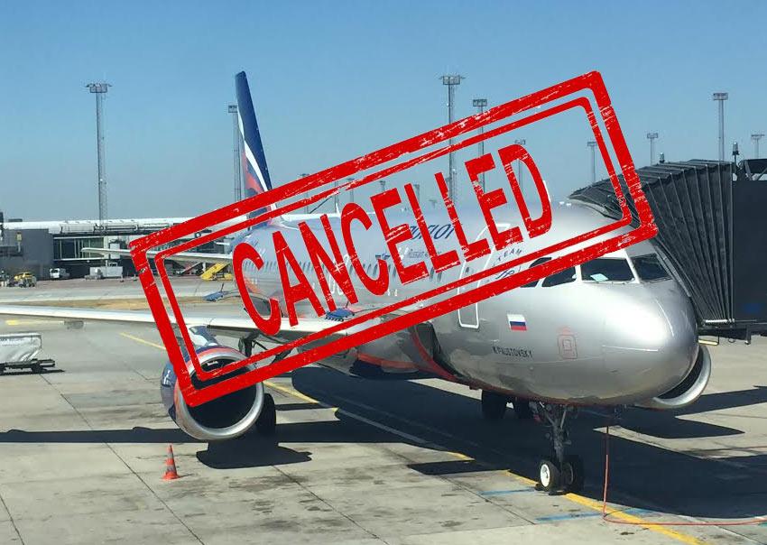 Как вернуть деньги за авиабилеты, если рейс был отменен