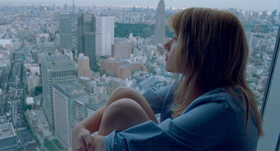 "Кадр из фильма ""Трудности перевода"". Вид на Токио"