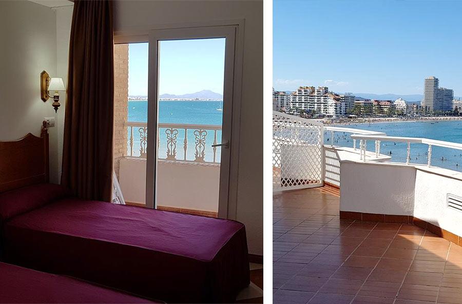 Недорогой отель Cabo de Mar совсем рядом с крепостью, Пенискола