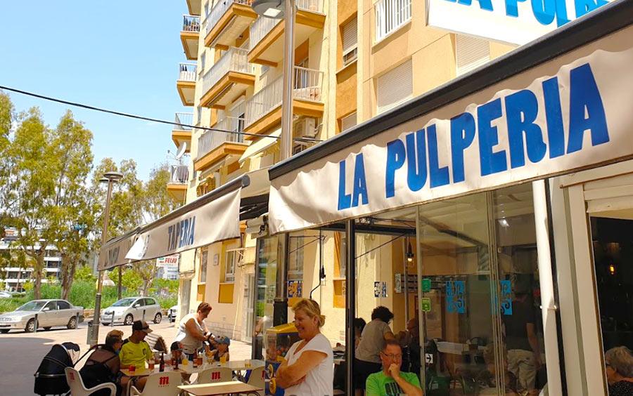 """Неприметный, но замечательный ресторанчик """"La Pulperia"""" в Пенисколе"""
