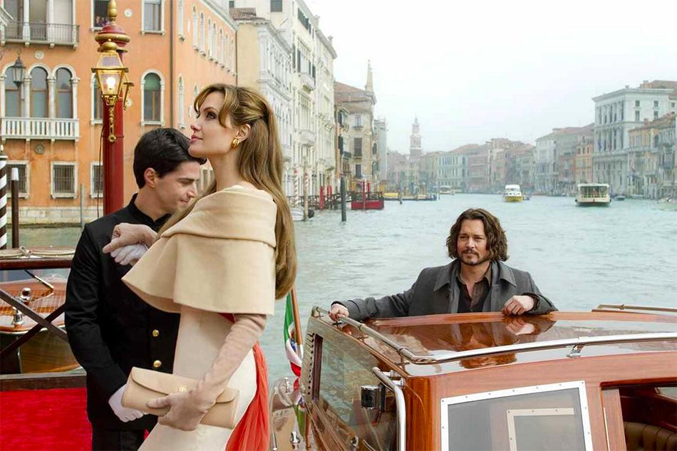Виртуальная экскурсия по Венеции вместе с Анджелиной Джоли и Джоннии Деппом