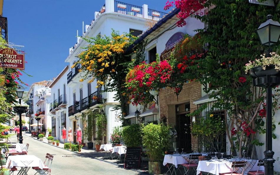Улицы Старой Марбельи