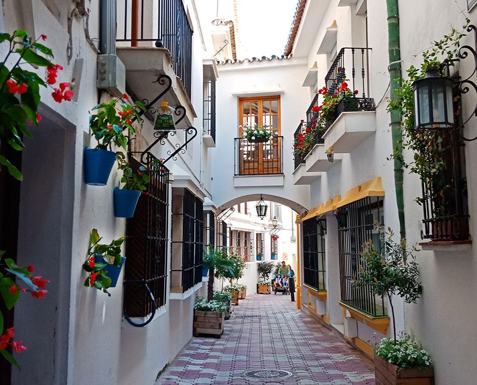 Улицы Марбельи