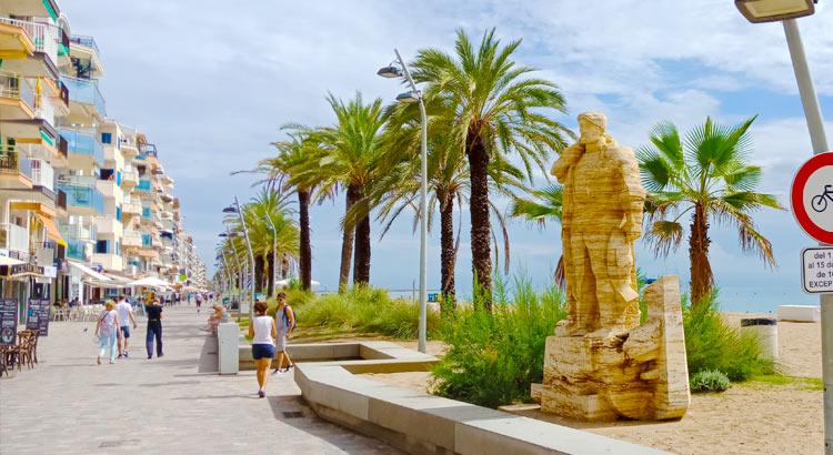 Калафель в Испании - уютный городок для отдыха на море
