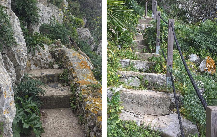 Гибралтарские ступени - трудно ли там идти?