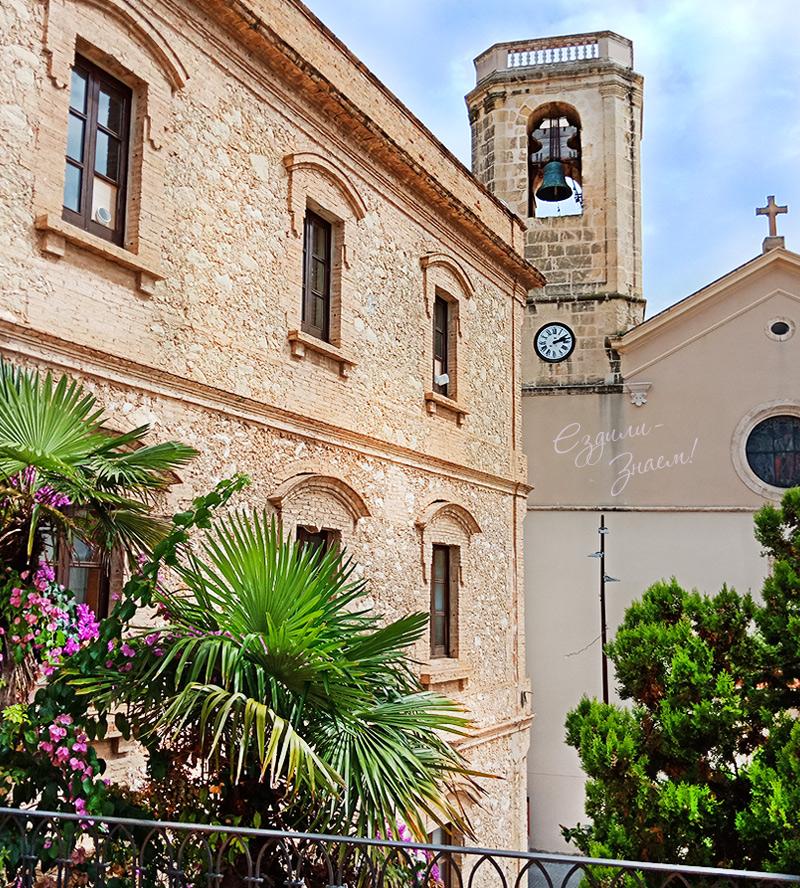 Калафель в Испании: старая часть города