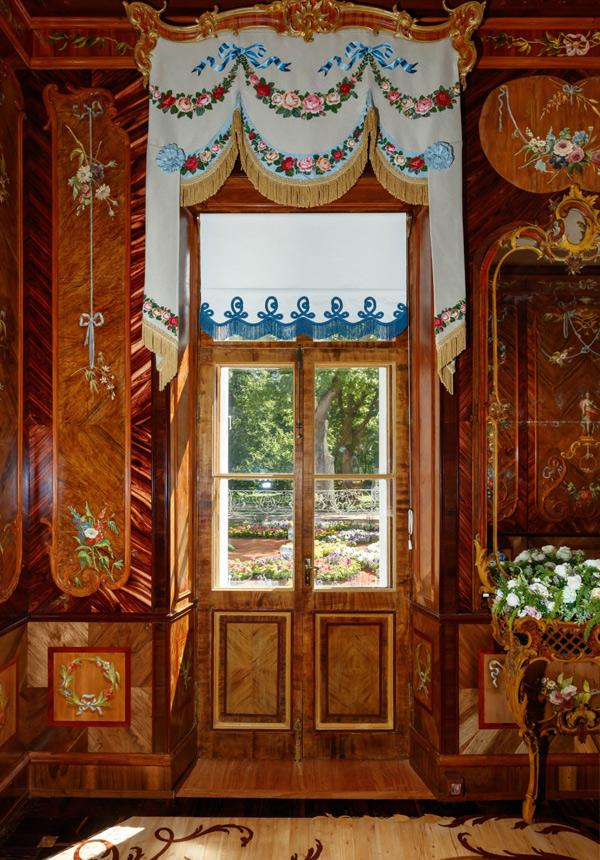 Оформление Китайского дворца