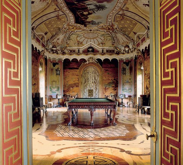 Большой Китайский кабинет, Китайский дворец в Ораниенбауме