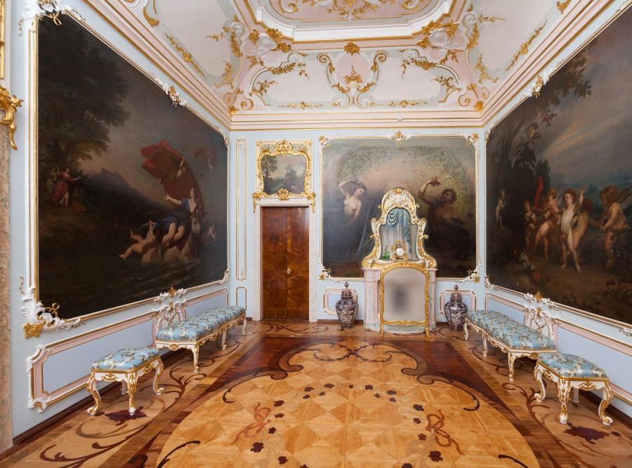 Голубая гостиная, Китайский дворец Екатерины II