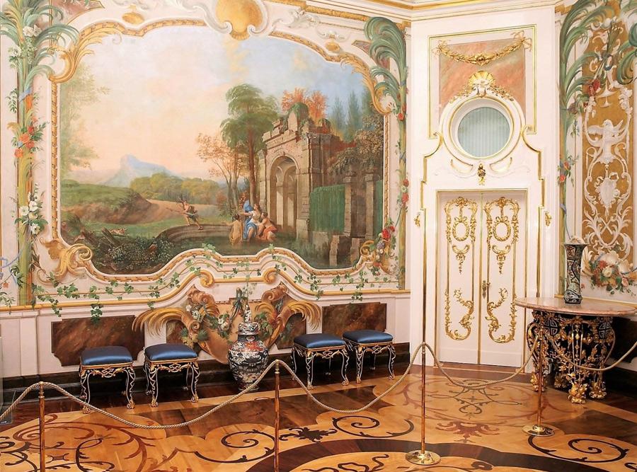 Интерьеры Китайского дворца в Ораниенбауме