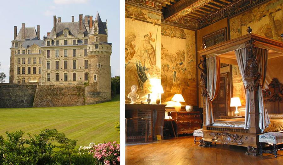 Комната в замке Бриссак
