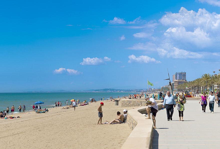 Пляж Сегур де Калафель