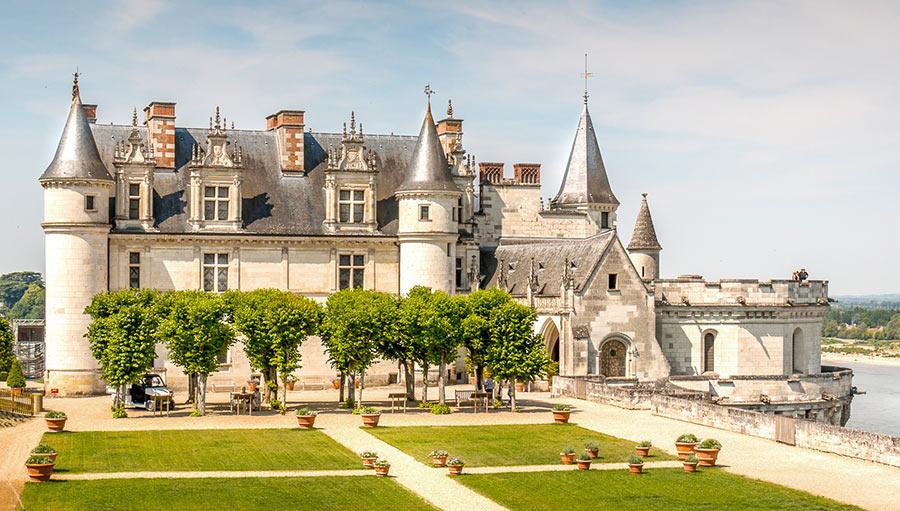 Верхний парк замка Амбуаз, Франция
