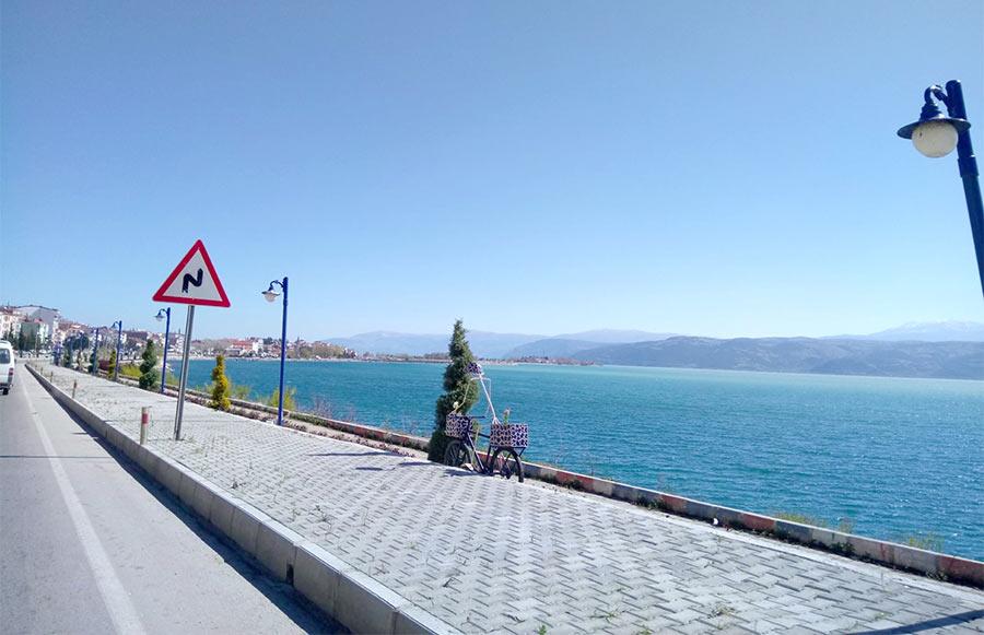 Вид на море. Маршрут по Турции