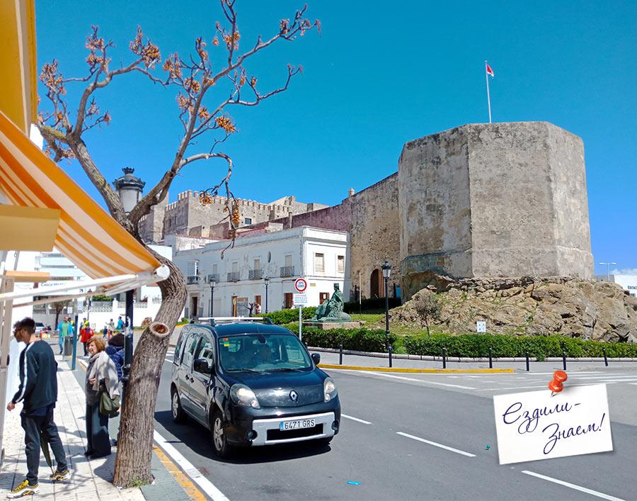Крепость Guzman el Bueno в порту Тарифы