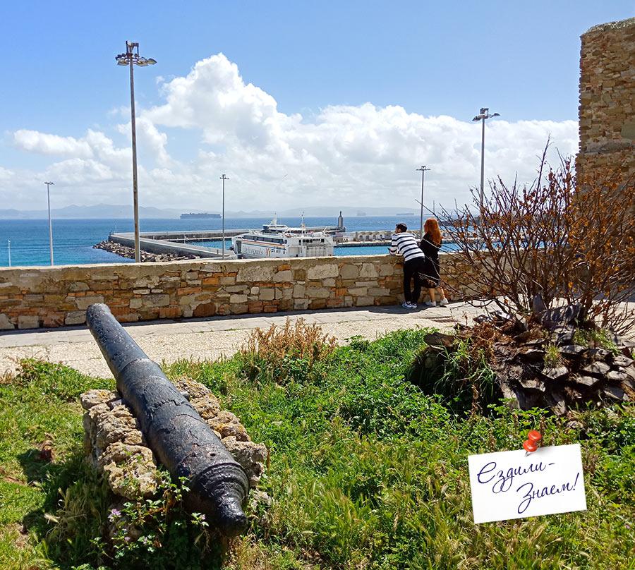 Вид на море с обзорной площадки Mirador Africa