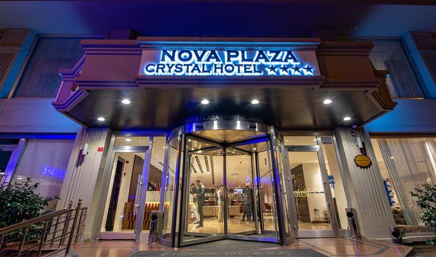 Отель Nova Plaza Crystal недалеко от остановки автобусов из нового аэропорта Стамбула