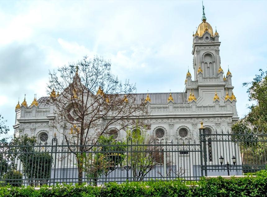 Церковь Святого Стефана в районе Балат, Стамбул