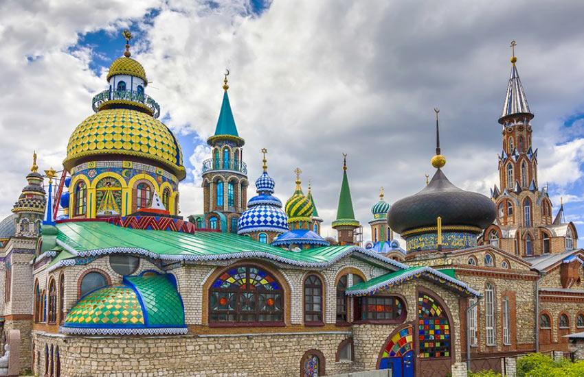 Храм всех религий - интересная достопримечательность рядом с Казанью
