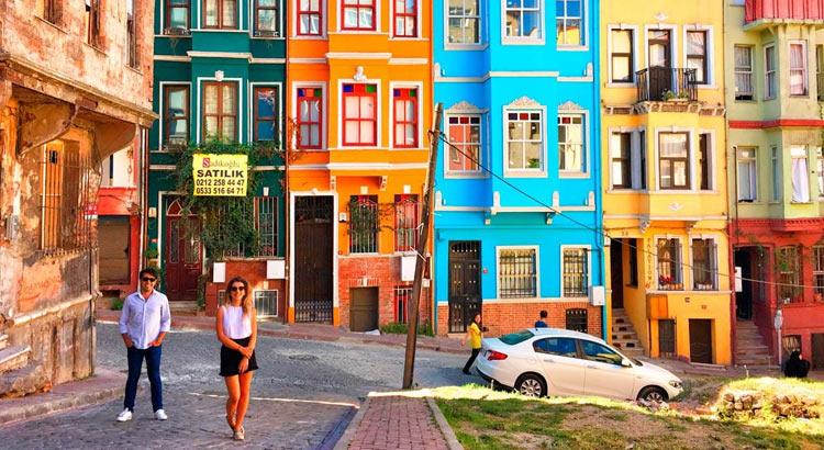 Районы Балат и Фенер: ретро-кафе,винтаж и цветные домики в Стамбуле