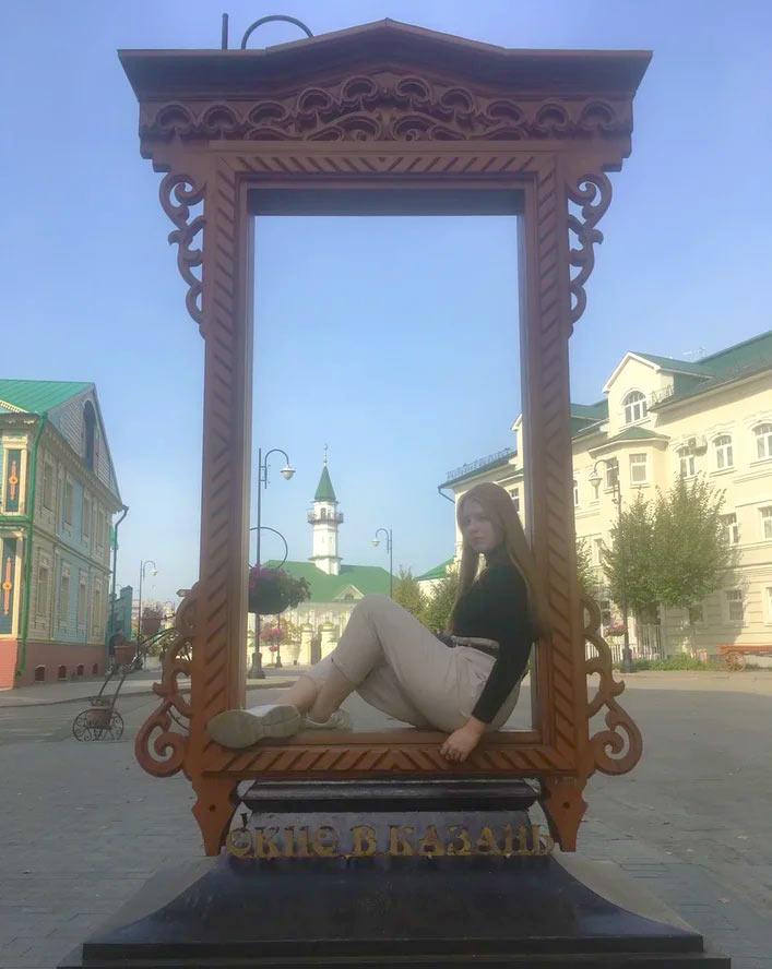 Старая татарская слобода в Казани