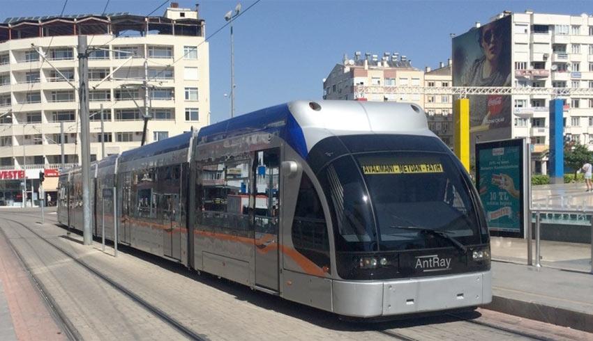 Трамвай Т1 из аэропорта Антальи в город