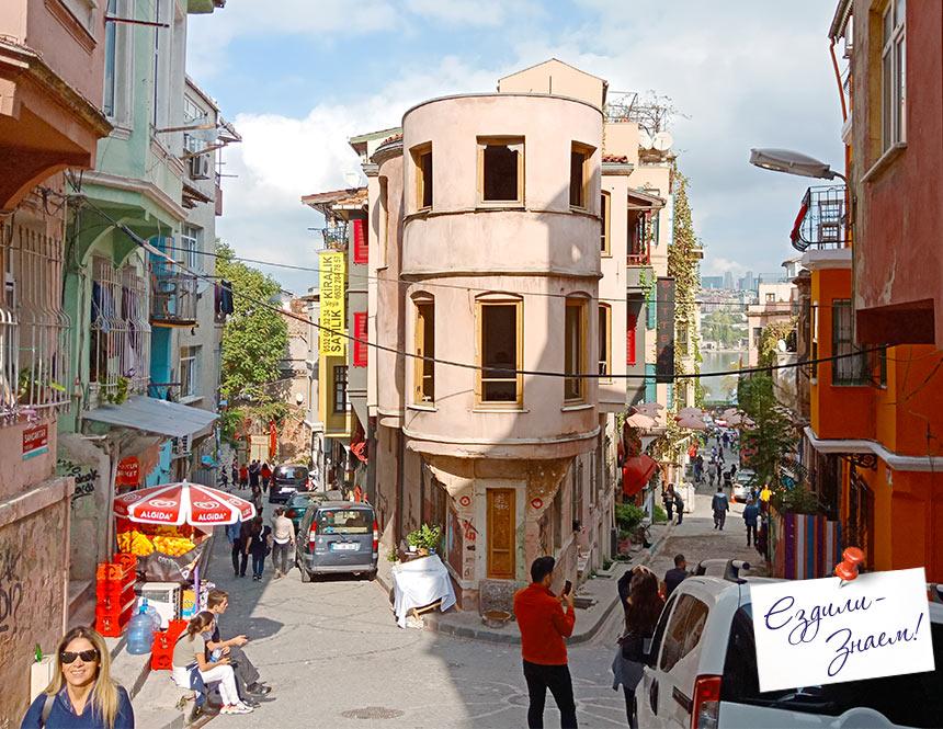 Улицы в районе Балат