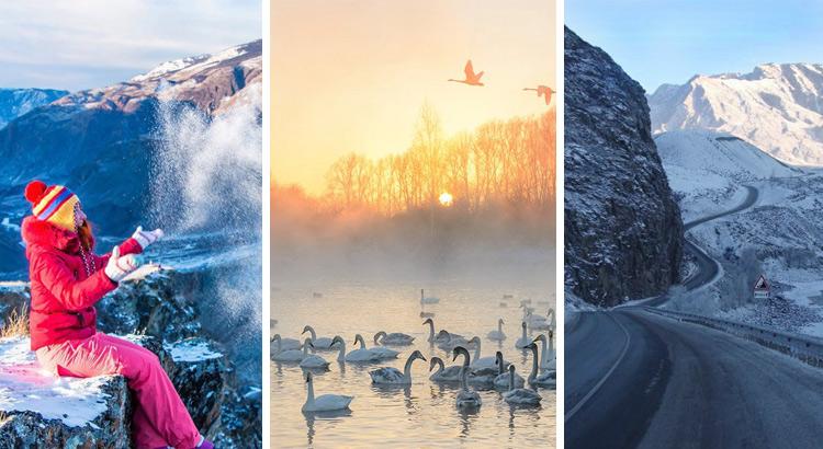 Отдых на Алтае зимой