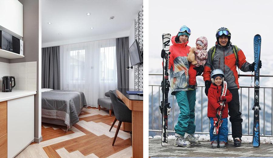 Зимний отдых в отеле Манжерок
