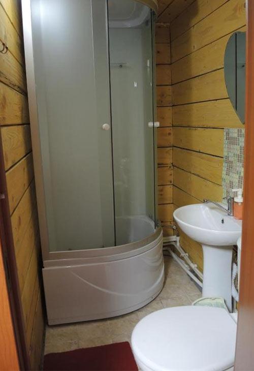 """1700 р. Ванная комната на турбазе """"Сельская Усадьба"""""""