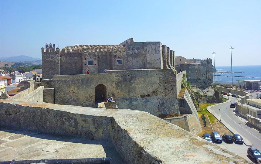 Обзорная площадка в крепости, Тарифа