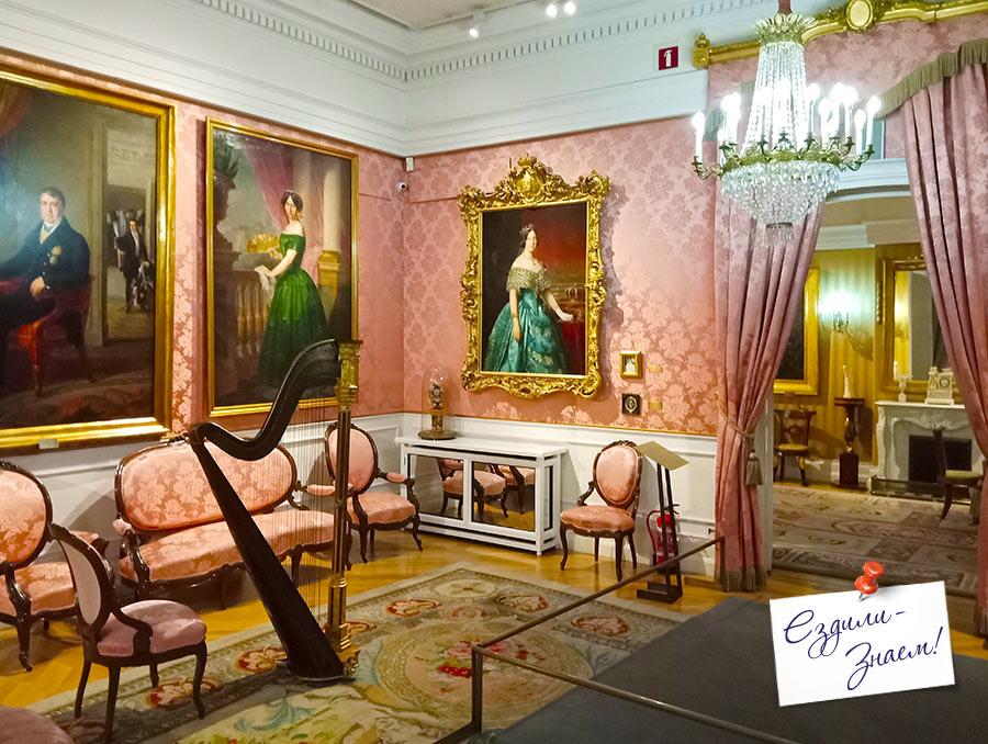 Картины испанских художников в музее Романтизма. Мадрид