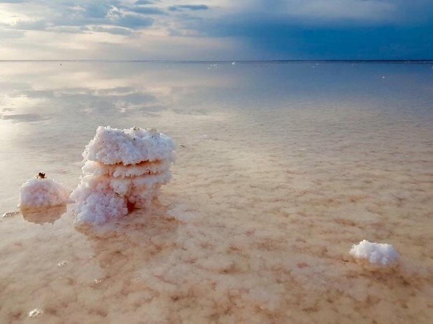 Природная соль озера Эльтон