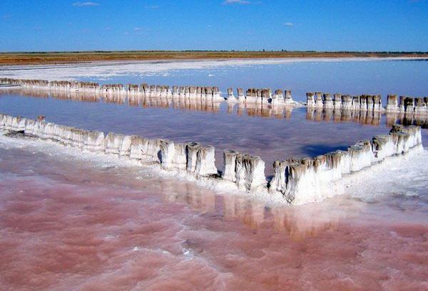 Натуральная соль озера Баскунчак