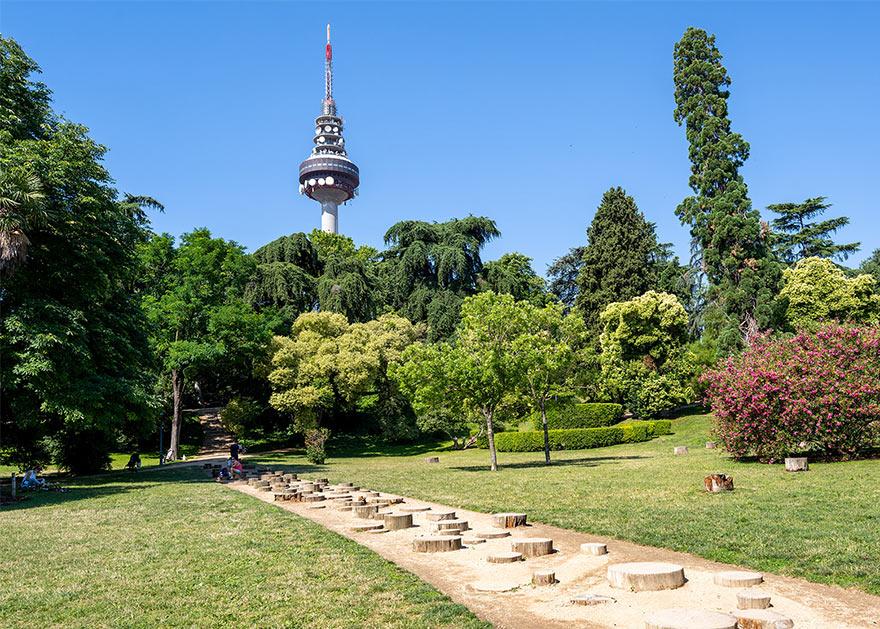 Парк Фуенте дель Берро в Мадриде