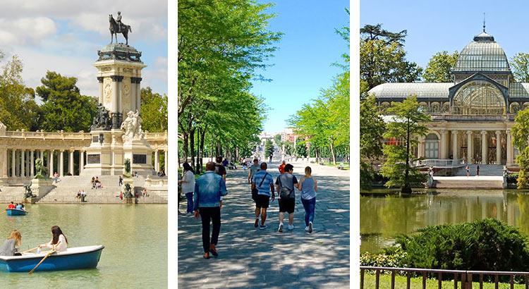 Парки Мадрида - лучшие места для прогулок