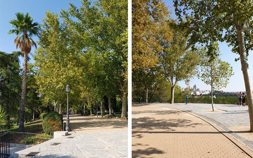 Западный парк в Мадриде