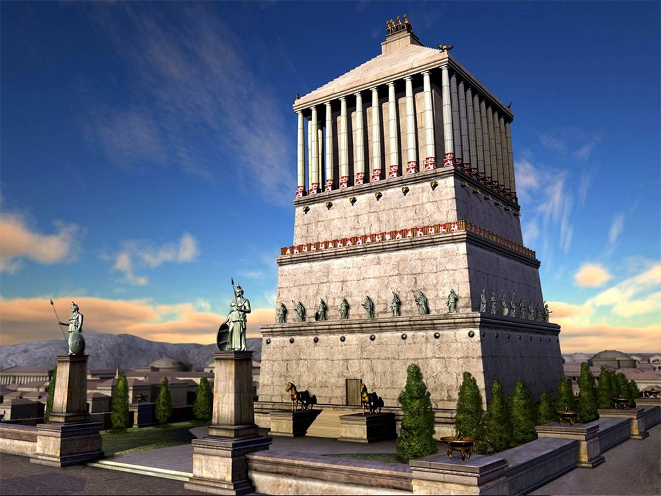 Галикарнасский мавзолей - пятое чудо света