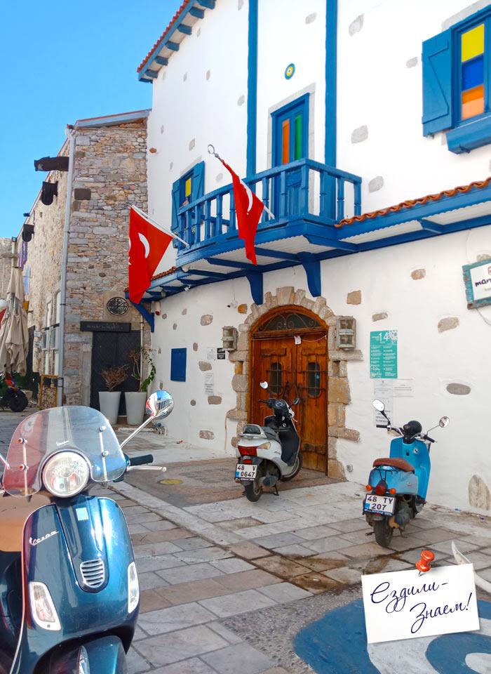 Греческий колорит старого города