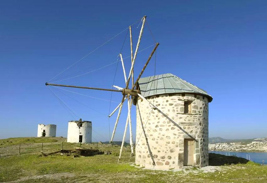 Старые ветряные мельницы - интересное место в Бодруме