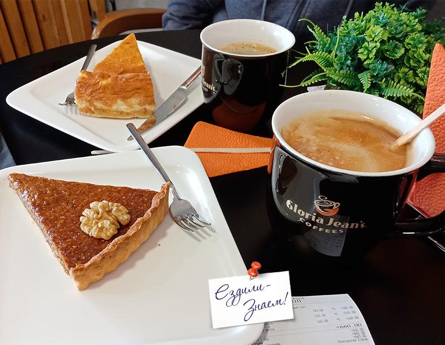 """Вкусные чизкейки и кофе в кофейне """"Глория Джинс"""", Сочи"""