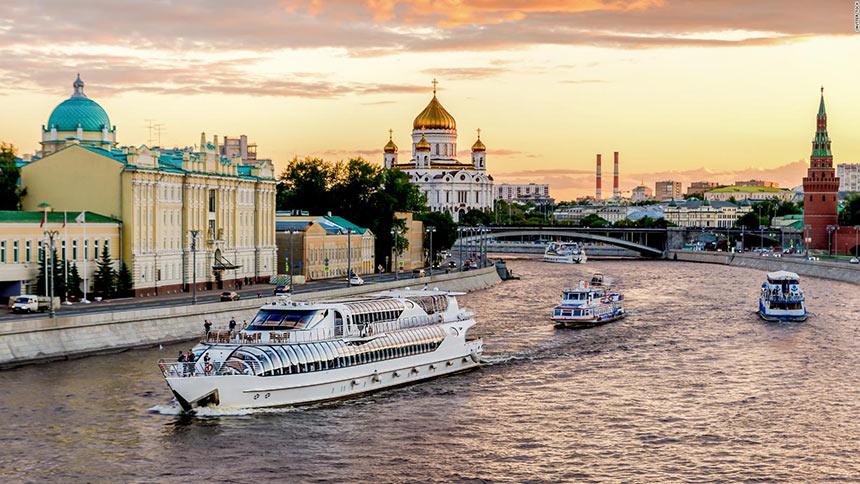 Круиз по Москве реке