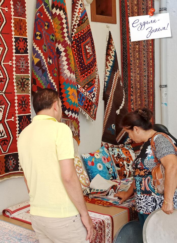 Торговля в Калеиче, Анталья